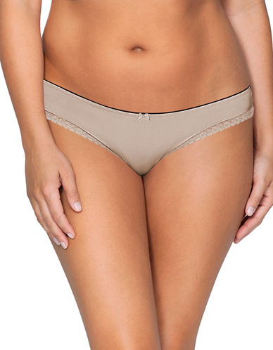 Parfait So Lovely Low-Rise Thong-BEIGE-XX-Large