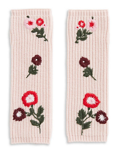 Kate Spade New York In Bloom Wool Gloves-ROSE-One Size