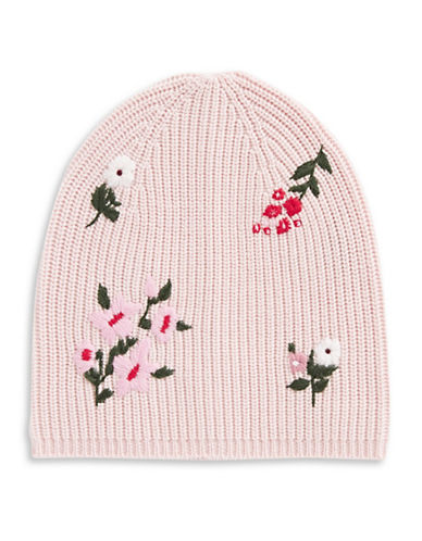 Kate Spade New York In Bloom Wool Tuque-PINK-One Size
