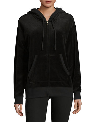 Juicy Couture Beachwood Track Jacket-BLACK-Medium 89365981_BLACK_Medium