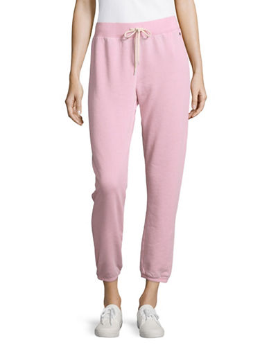 Juicy By Juicy Couture Marled Track Pants-ASH ROSE-Medium