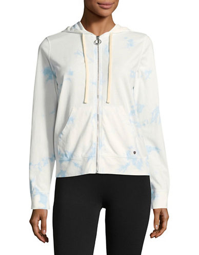Juicy By Juicy Couture Tie Dye Track Jacket-MARINA SKY-Large