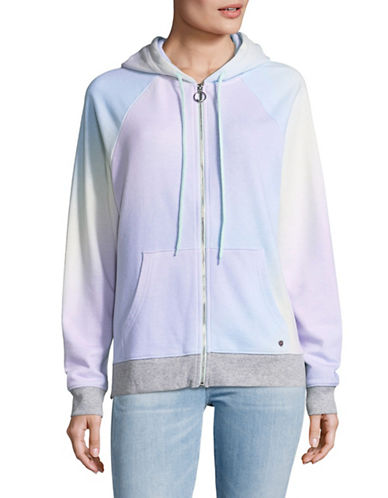 Juicy By Juicy Couture Rainbow Gradient Hoodie-RAINBOW-X-Small