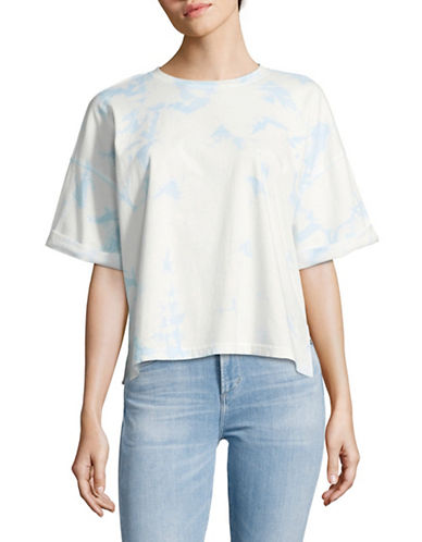 Juicy By Juicy Couture Tie-Dye T-Shirt-MARINA SKY-Medium