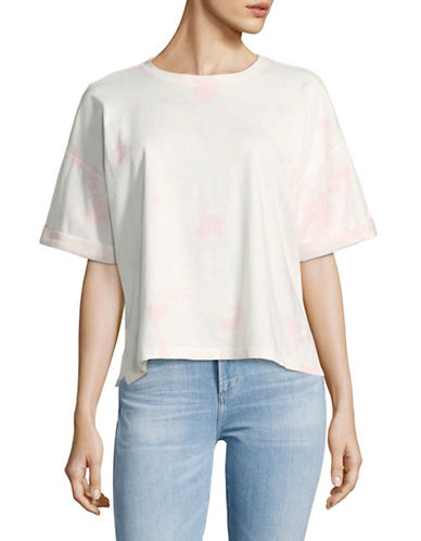 Juicy By Juicy Couture Tie-Dye T-Shirt-BABY PINK-X-Small