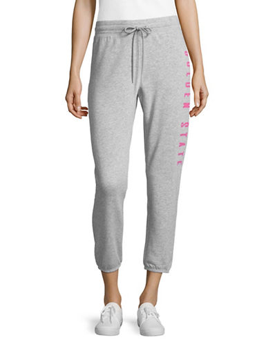 Juicy By Juicy Couture Slim Golden State Sweatpants-HEATHER-Medium