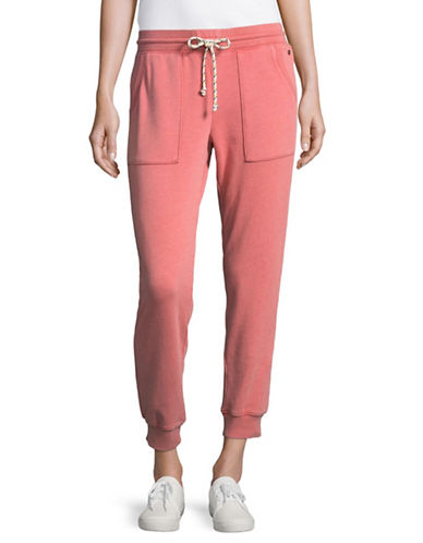 Juicy By Juicy Couture Distressed Joggers-PINK-Small