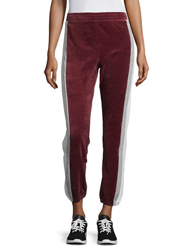 Juicy Couture Heritage Track Pants-RED-X-Small