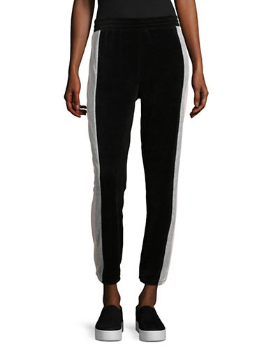 Juicy Couture Heritage Track Pants-BLACK-Large
