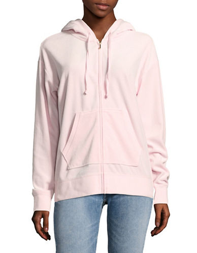 Juicy Couture Beachwood Track Jacket-PINK-X-Small