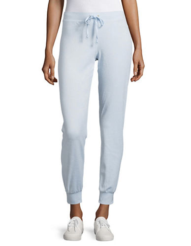 Juicy Couture Zuma Microterry Pants-CRYSTAL-Small