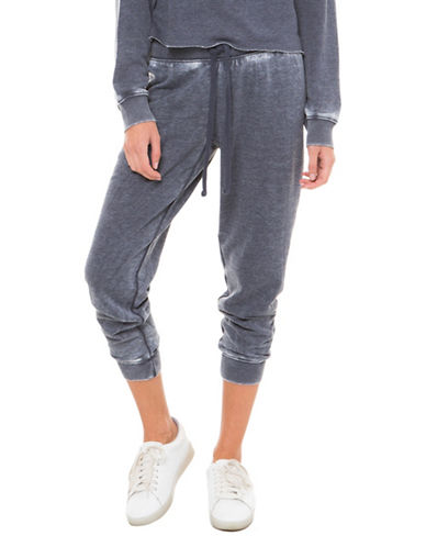 Juicy By Juicy Couture Burnout Jogger Pants-BLUE-X-Small
