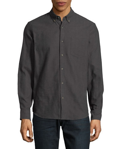 Black Brown 1826 Americana Sportshirt-GREY-X-Large
