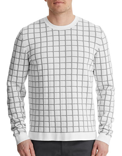 Theory Bercel Knit Pullover-WHITE-Small 87422842_WHITE_Small