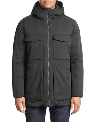 Theory Allon Hooded Jacket-BLACK-X-Large 87897763_BLACK_X-Large