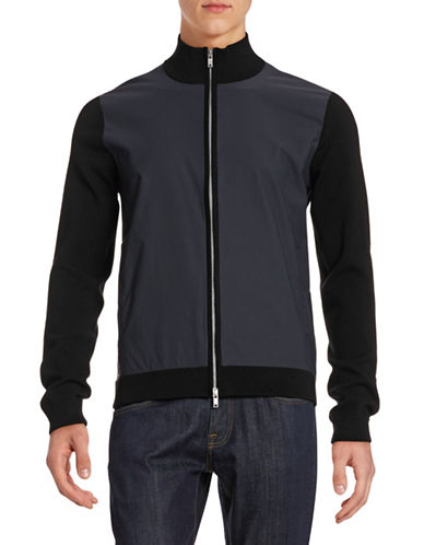 Theory Lievin Bomber Jacket-BLACK-Large 88075749_BLACK_Large