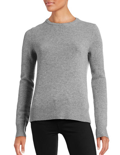 Theory Salomina Cashmere Sweater-GREY-Medium 88816257_GREY_Medium