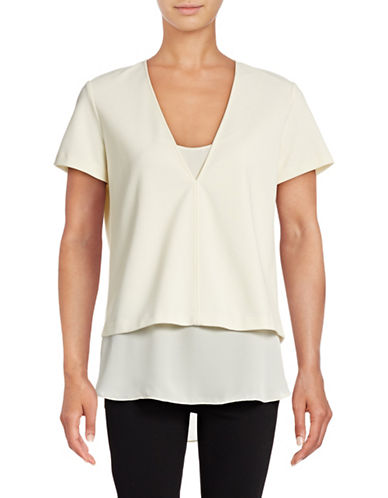 Theory Zadeia Layered Top-WHITE-X-Small 88816275_WHITE_X-Small