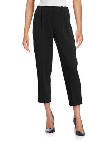 Theory Straconi Crepe Pants-BLACK-2