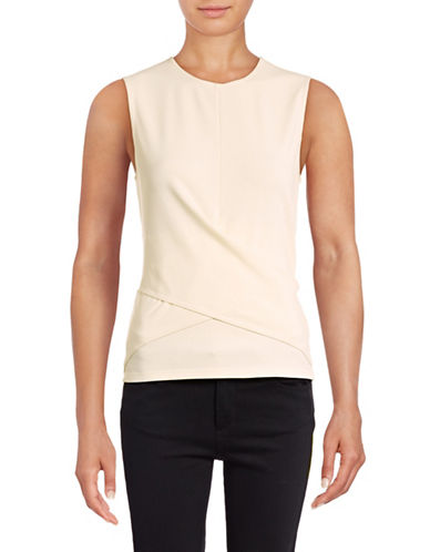Theory Arthenia Ponte Top-WHITE-X-Small 88871622_WHITE_X-Small