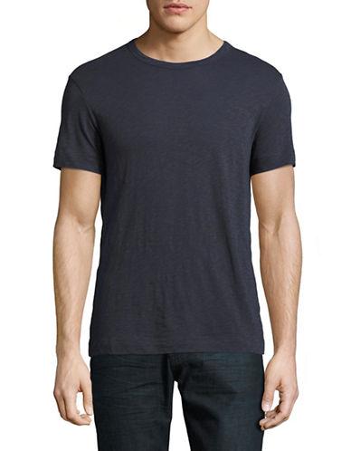 Theory Gaskell N Slub Knit T-Shirt-BLUE-Medium 88851610_BLUE_Medium