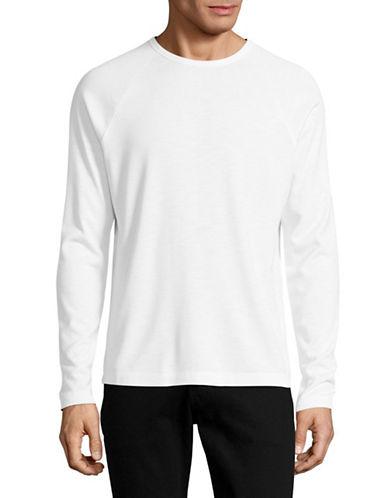 Theory Dustyn Long Sleeve T-Shirt-WHITE-Large 89211364_WHITE_Large