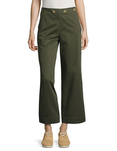 Theory Namid TS Button-Panel Chinos-GREEN-10