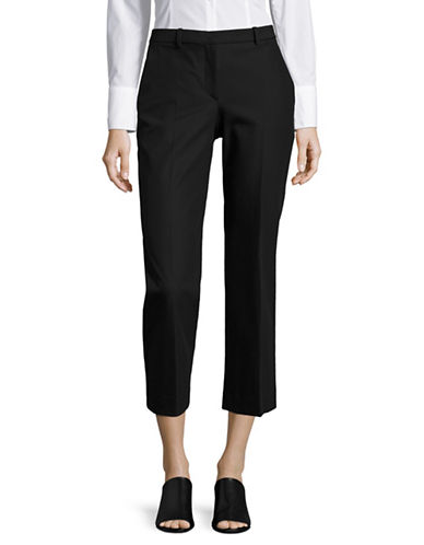 Theory Hartsdale NP Crop Pants-BLACK-10