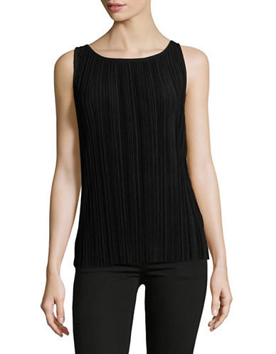 Theory Insar Drapey Pleated Tank-BLACK-Small 89117056_BLACK_Small
