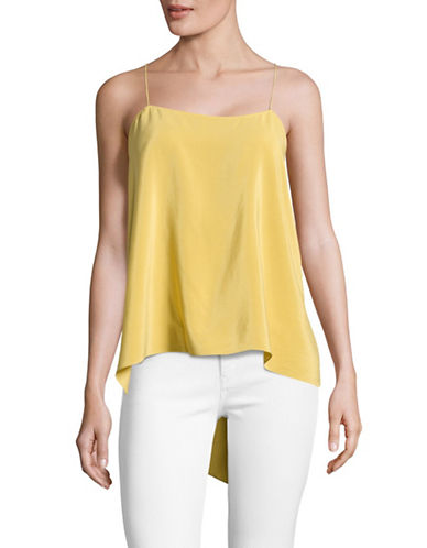 Theory Silk Tank Top-YELLOW-X-Small 89179385_YELLOW_X-Small
