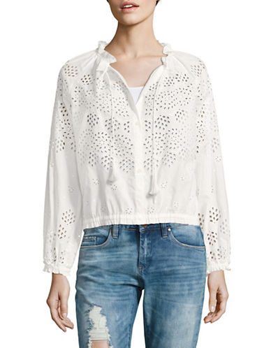Theory Maryana Eyelet Top-WHITE-Medium 89227418_WHITE_Medium
