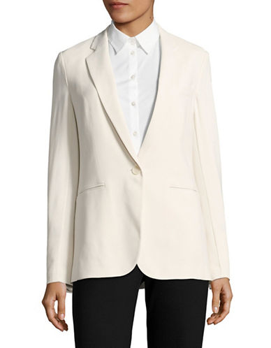 Theory Grinson CL Crepe Blazer-WHITE-10