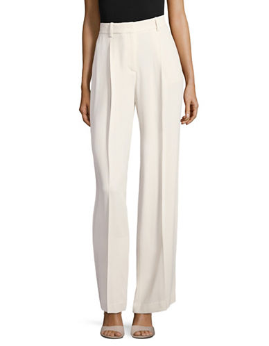 Theory Admaris Crepe Pants-WHITE-2
