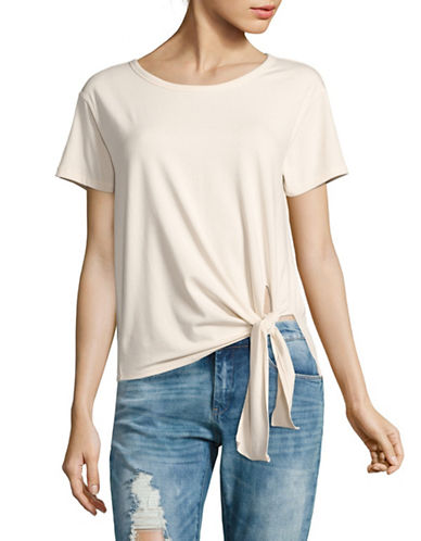 Theory Dorotea T.Rubric Knot T-Shirt-WHITE-X-Small 89227436_WHITE_X-Small