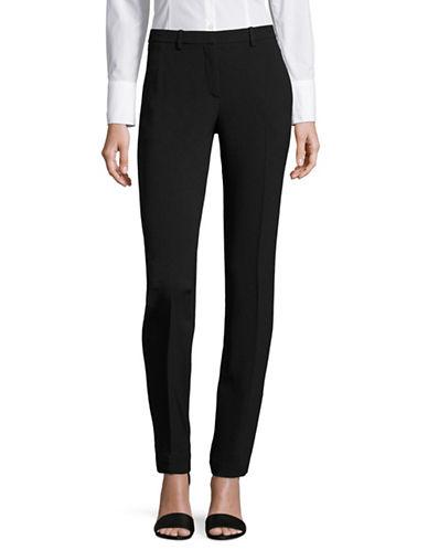 Theory Hartsdale B Rosina Crepe Pants-BLACK-2