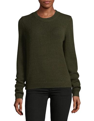 Theory Yulia Merino Wool Sweater-GREEN-Small