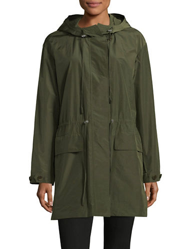 Theory Horatia Lateral Jacket-GREEN-X-Small