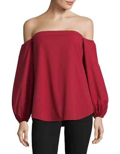 Theory Laureema Light Poplin Shirt-RED-10