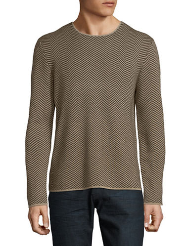 Theory Merino Wool Sweater-GREY-Medium