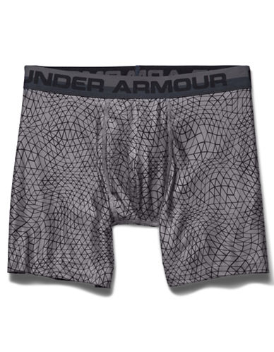 Under Armour Original Series Geo Print Boxer Briefs-STEEL-X-Large 87715876_STEEL_X-Large