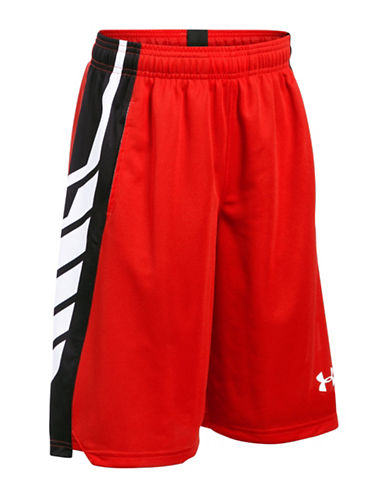 Under Armour Select Textured Shorts-RED-Medium 89081057_RED_Medium