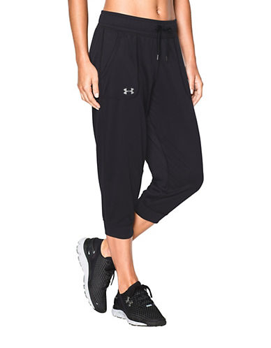 Under Armour Tech Capri Pants-BLACK-X-Large 88292231_BLACK_X-Large