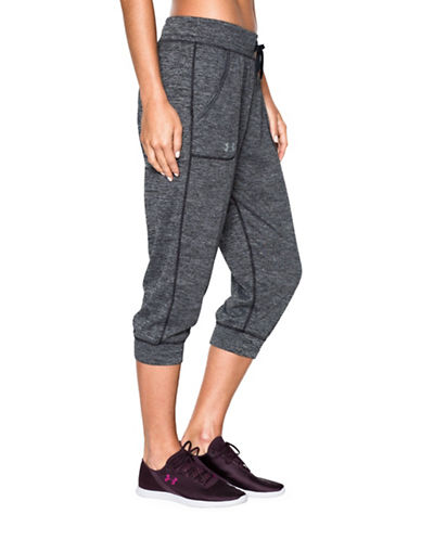 Under Armour Tiger Twist Tech Capris-BLACK-Small 88485491_BLACK_Small