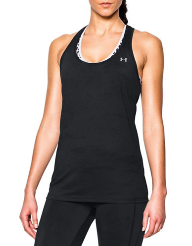 Under Armour Tech Active Tank Top-BLACK-X-Large 88512533_BLACK_X-Large