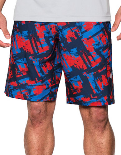 Under Armour Bergwind Printed Boardshorts-ROCKET RED-34 88323785_ROCKET RED_34