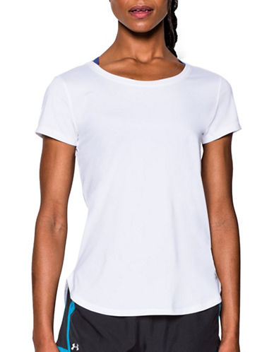 Under Armour Fly-By 2.0 T-Shirt-WHITE-Large 88840386_WHITE_Large