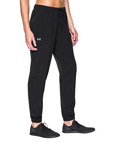 Under Armour Relaxed-Fit Easy Jogger Pants-BLACK-Small 88186925_BLACK_Small