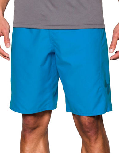 Under Armour Mania Solid Boardshorts-ELECTRIC BLUE-34 88323795_ELECTRIC BLUE_34