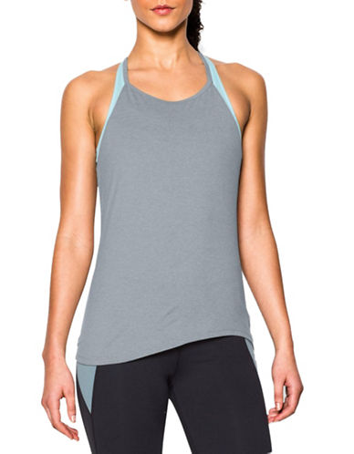 Under Armour Stretch Active Tank Top-GREY-Large 88401856_GREY_Large
