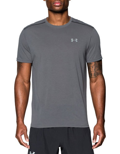 Under Armour Streaker Run Short Sleeve T-Shirt-GRAPHITE-X-Large 88443632_GRAPHITE_X-Large